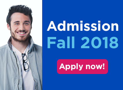 Admission is open for Fall 2018!
