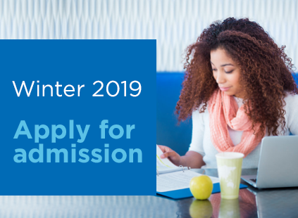 Admission is open for Winter 2019!
