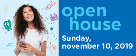 Open house fall 2019