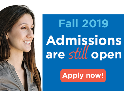 Admission is open for Fall 2019!