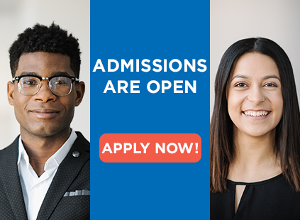 Admissions are open!