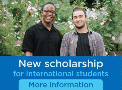 New scholarship for international students